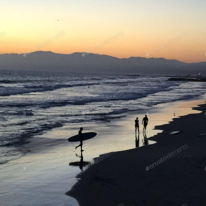 Venice Beach Sunset - Disparo en iPhone