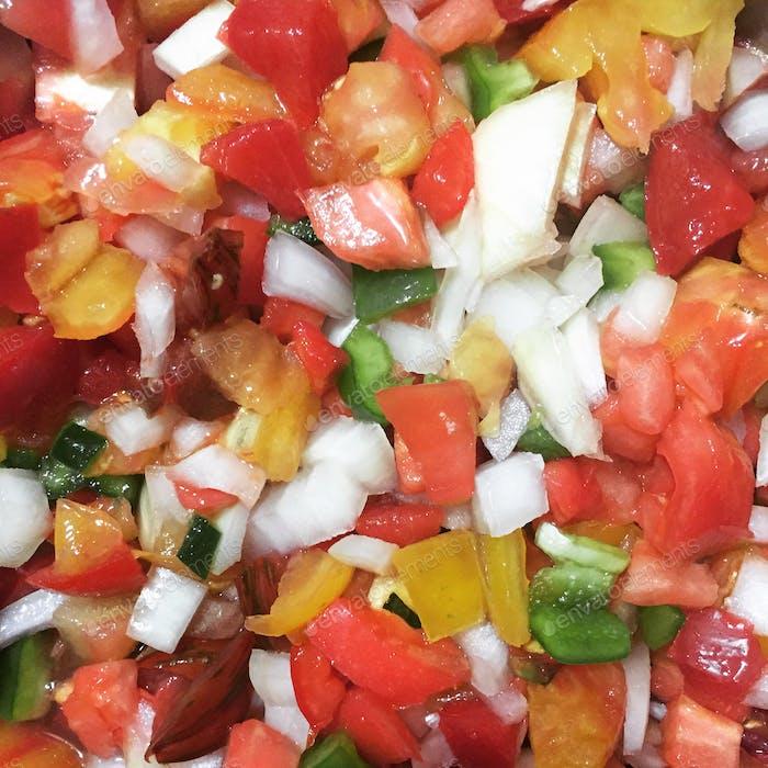Hausgemachte Salsa