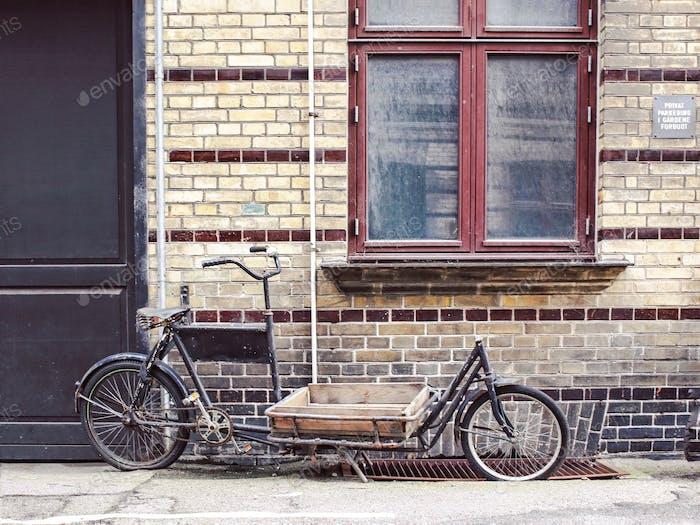 Vintage bike in Copenhagen