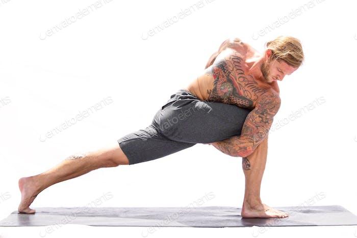 Yoga-Kraft. Yoga Schönheit.