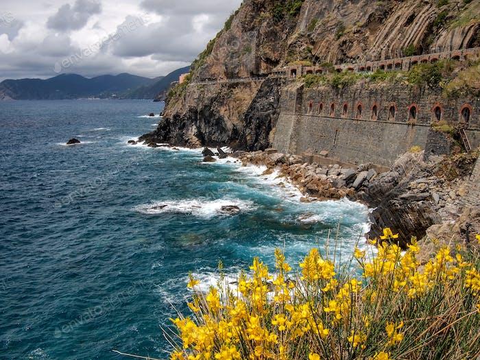 _Nominierte_ Ansicht vom Weg, der die Cinque Terre verbindet