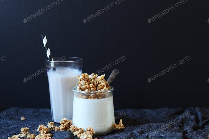 Protein gefülltes Frühstück