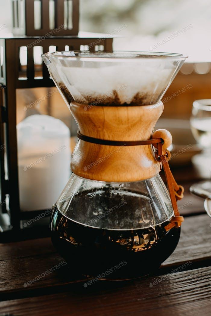 Chemex filter coffee