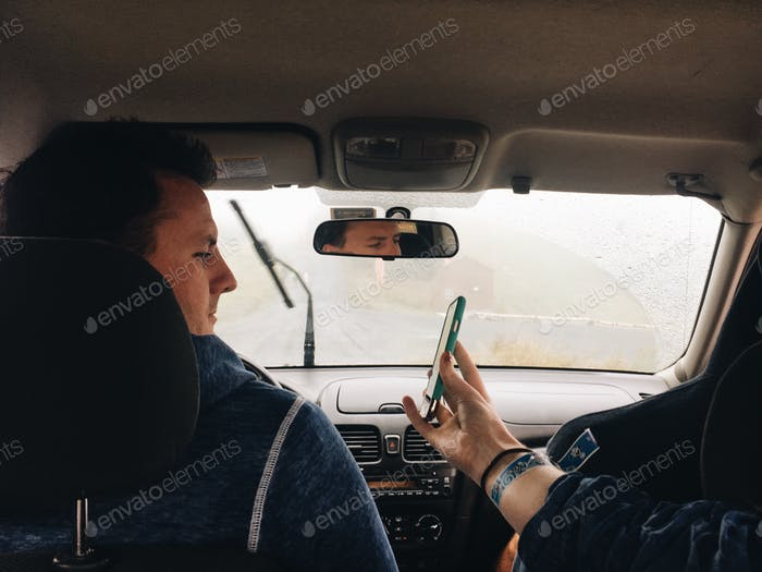 Using mobile device for directions