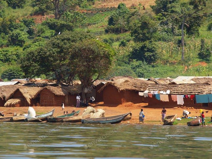 Ugandan village