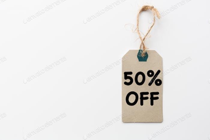 Descuento cincuenta por ciento de descuento, Viernes Negro, ciberlunes venta, compras en línea durante coronavirus