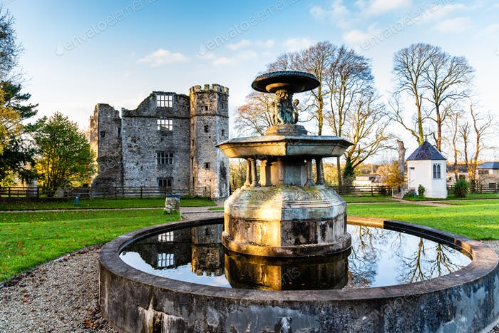 Castle of Mallow and gardens, Ireland