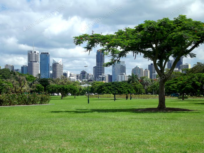 Green spaces within a city - Location: New Farm Park, Brisbane, Australia