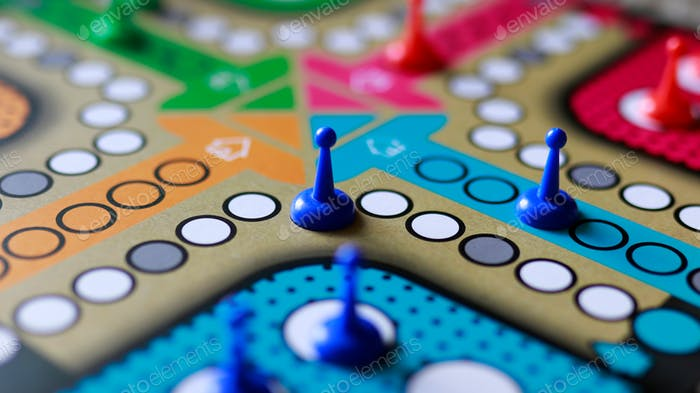 colorful board games
