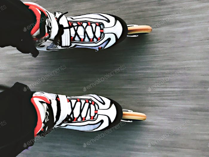 Skating Fast From My Perspective