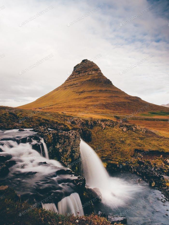 Long exposure at Kirkjufell