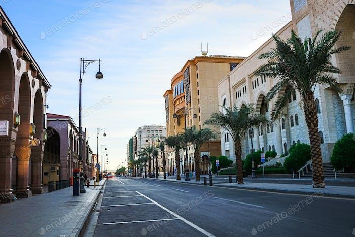Medina City Saudi Arabia - Street