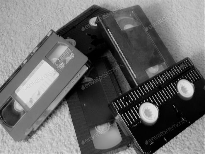 The video cassette recorder is an electro-mechanical device that records analog audio and analog