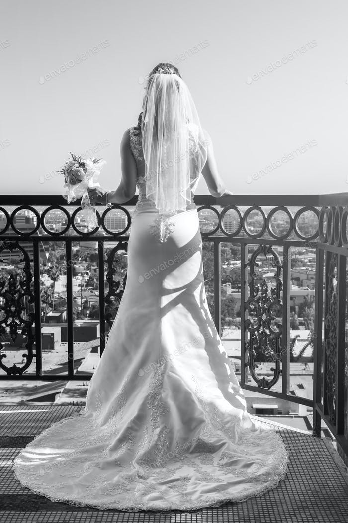 My favorite shot of my last bride, shot at the London Hotel in West Hollywood.