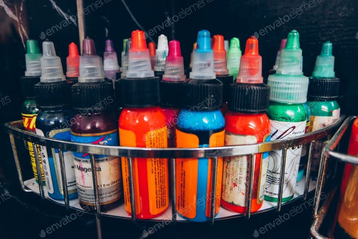 Tattooing inks