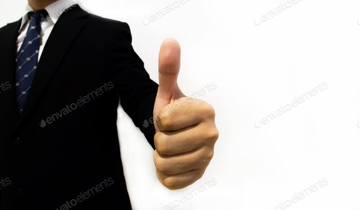 Thumb up gestures