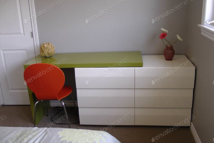 Desk modern style.