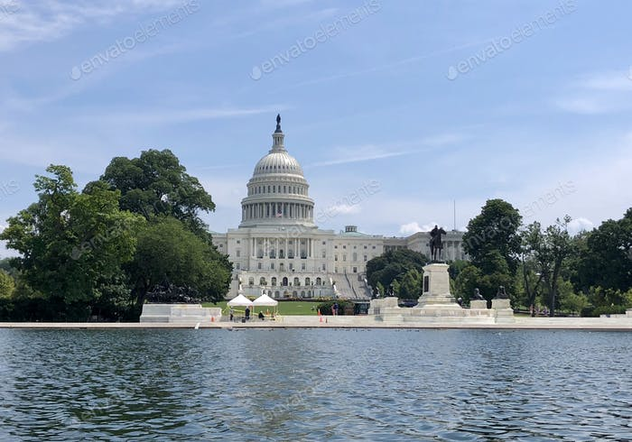 United States Capitol Building often called the Capitol Building. Home of USA Congress. USA travel