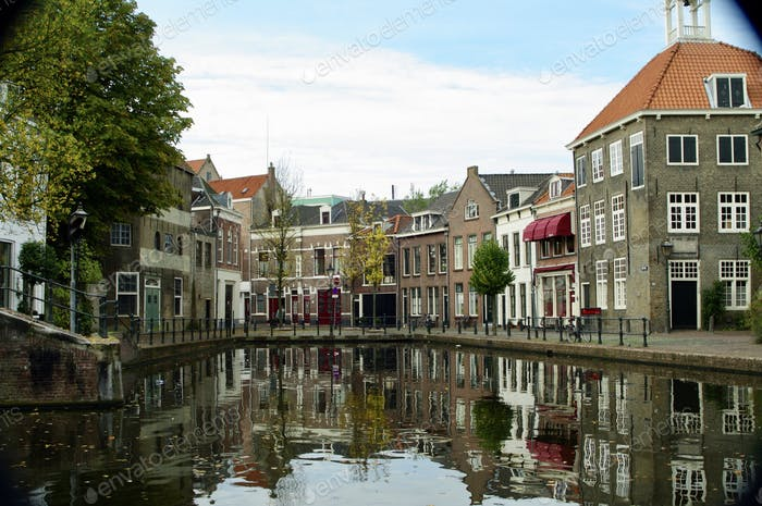 Häuser in Holland.