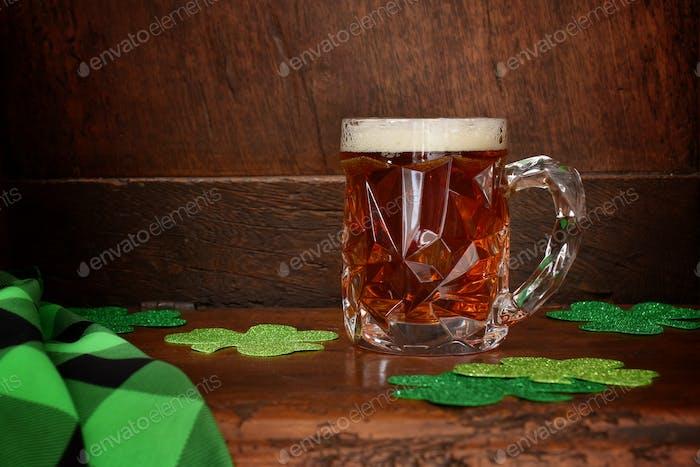 Bier auf einem Tresen
