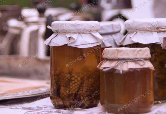 honey in banks