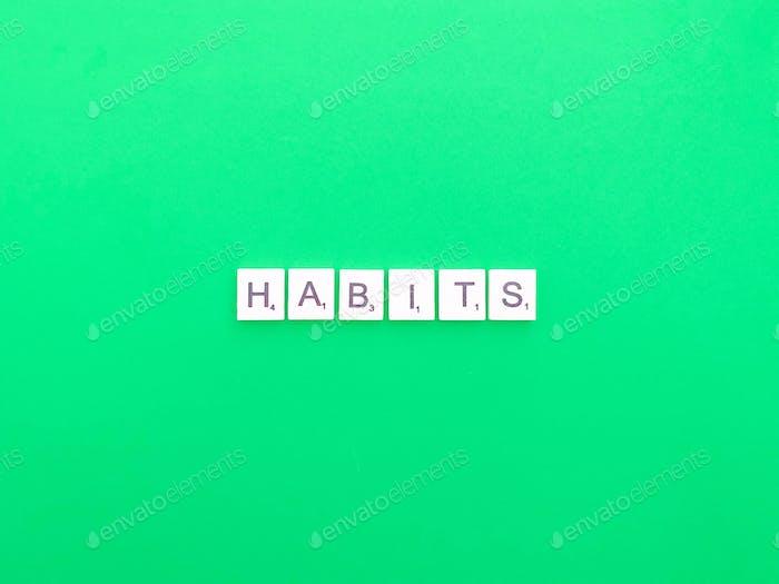Gewohnheiten
