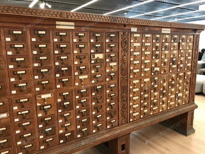 Library Card Catalog📚