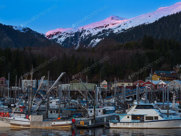 Ketchikan Alaska harbor