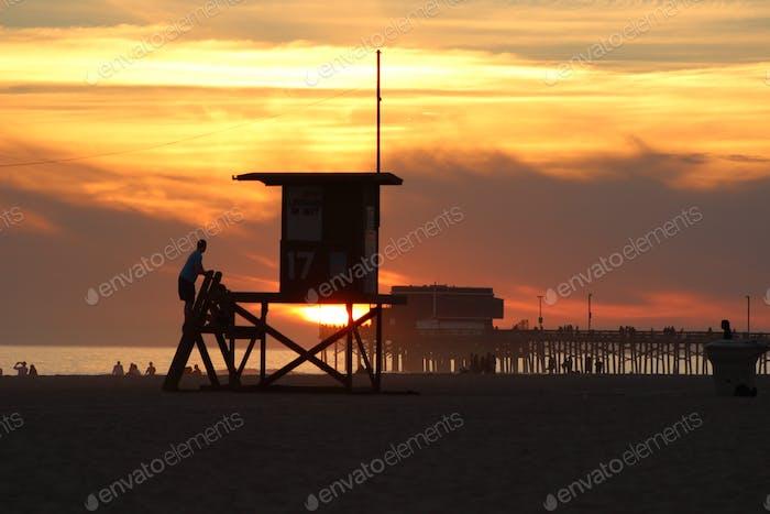My old home.... Tower 17.... Newport Beach Peninsula