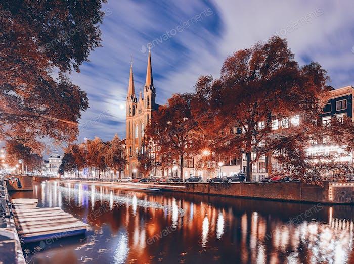 Colors of Autumn. Amsterdam.