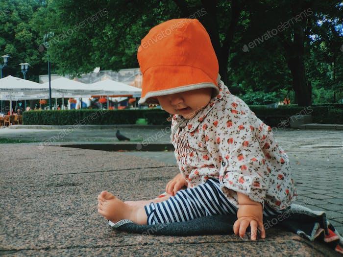 Babies urban life