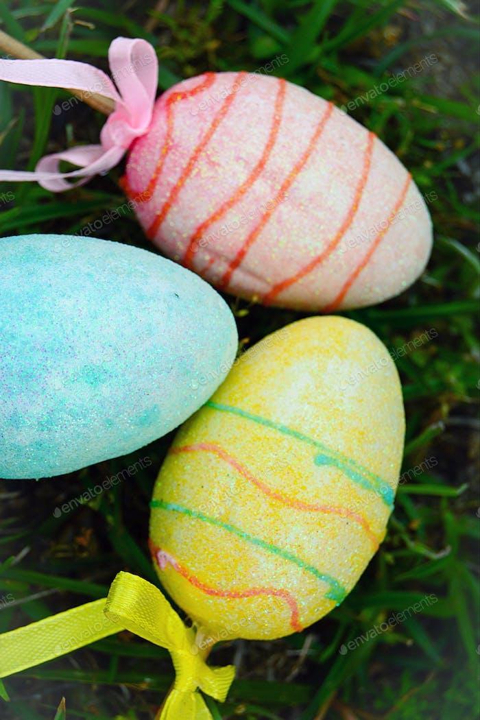 Easter yard decor