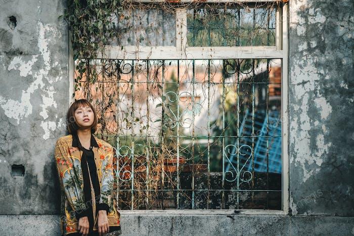 Beautiful girl asian