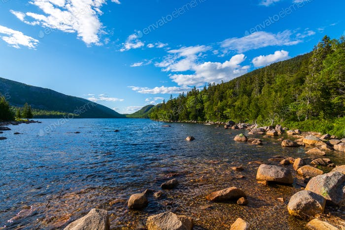 Jordan Pond, Acadia Nationalpark
