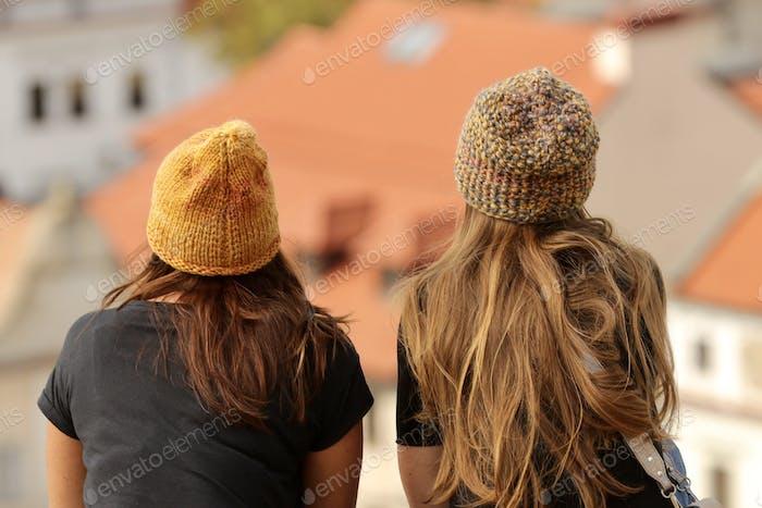 Mujeres en la gorra
