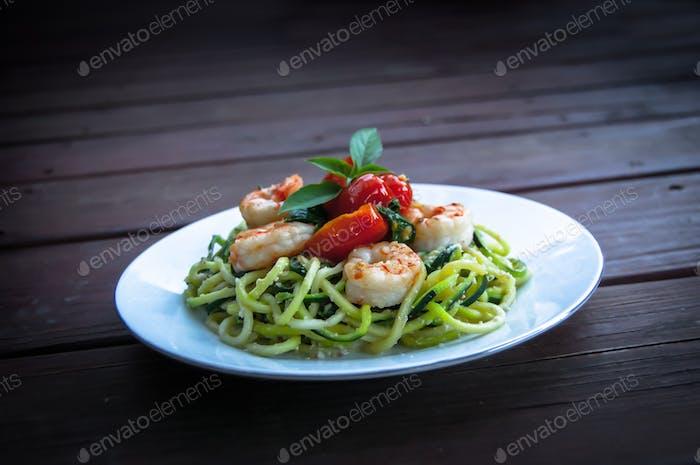 Shrimp Zoodle