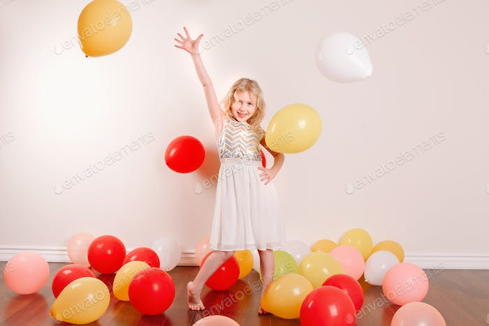 ~~~ Nominated ~~~ balloons; birthday; funny; girl; play; happy; celebration; home; alone; party;