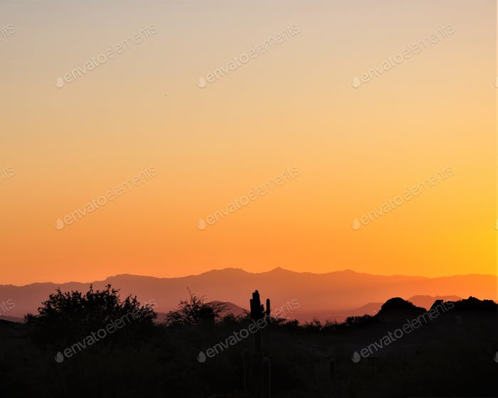 Is there a sunset any prettier than an Arizona sunset?