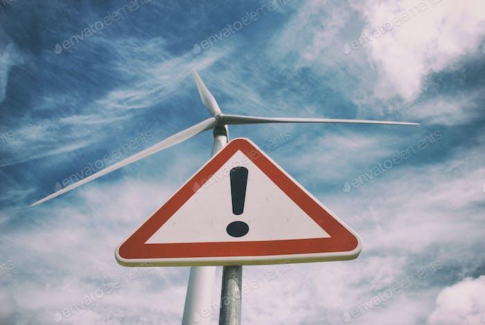 Climate changes danger