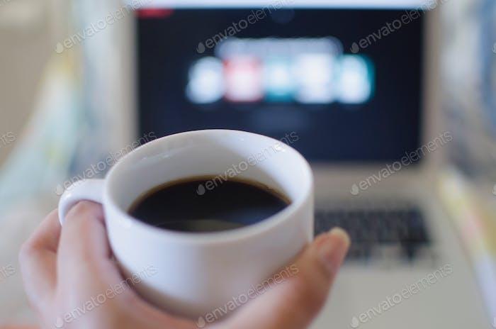Coffee and Netflix
