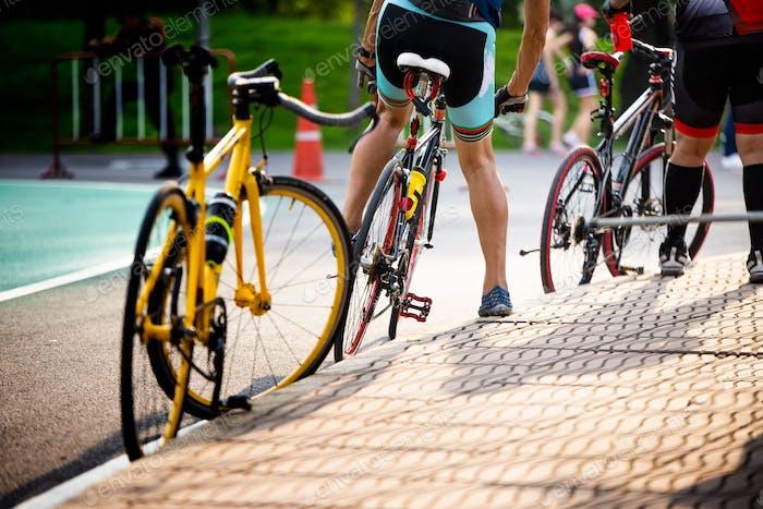 Niedrige Teile von Fahrrädern