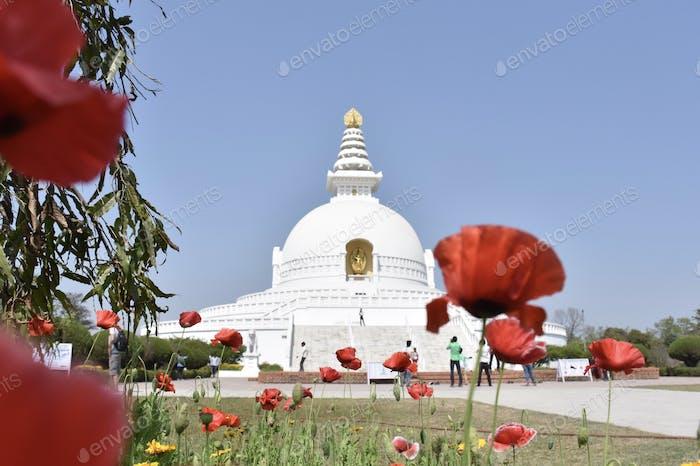 Nepalés peace Pagoda