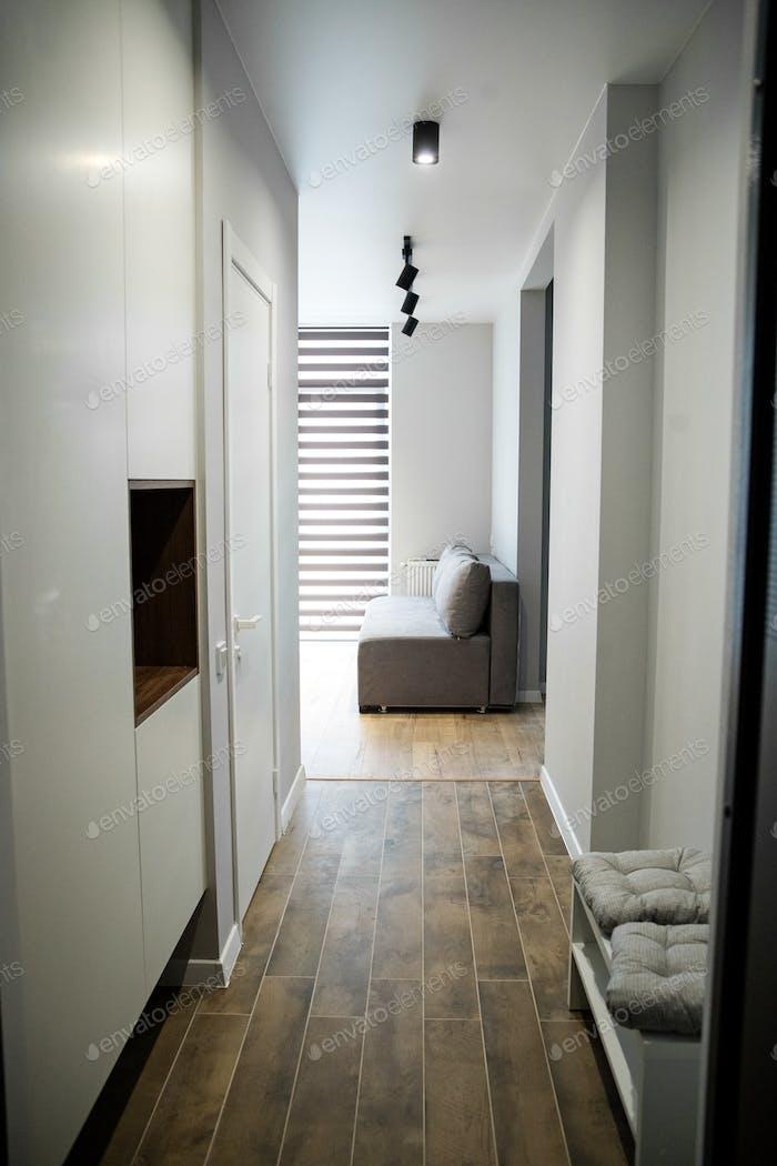 Corridor of the apartment.