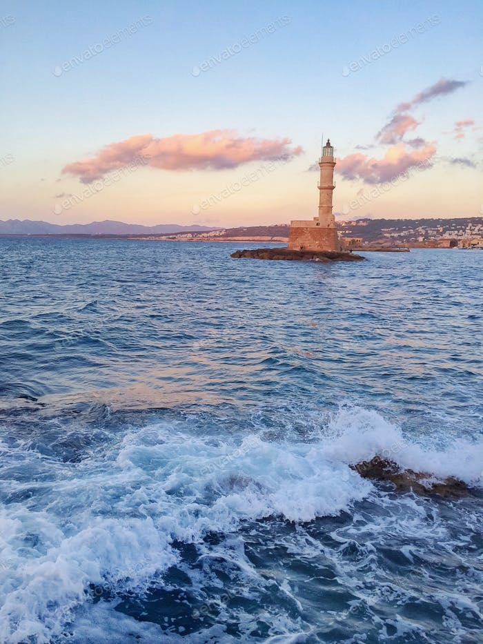Chania Lighthouse.