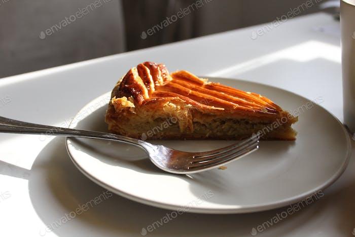 Slice of galette