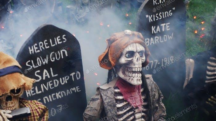 Skeleton Graveyard