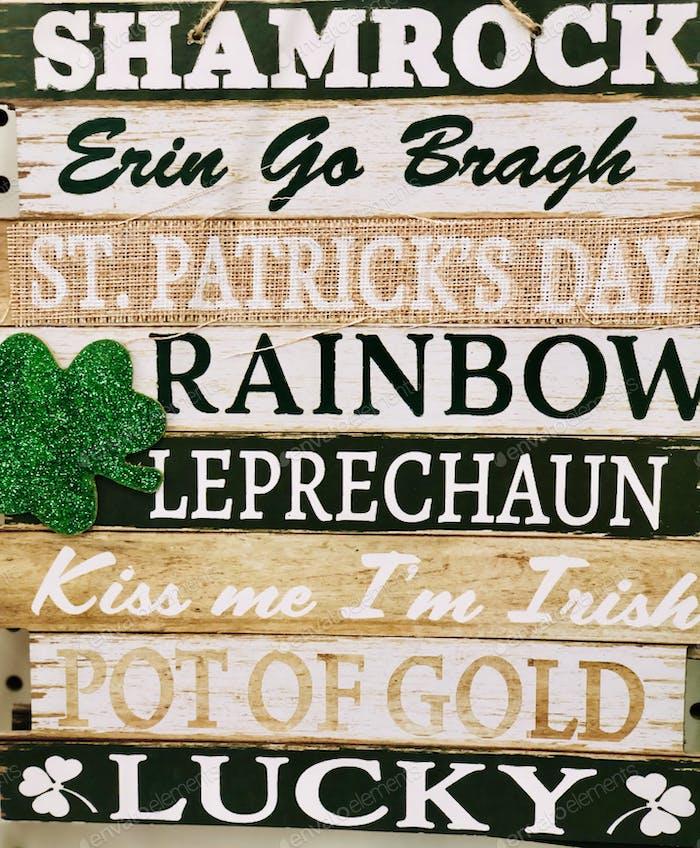 Luck of the Irish, St