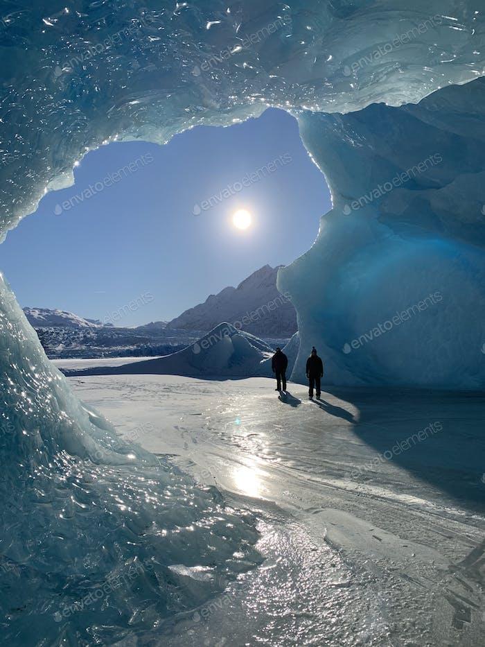 A peek inside an Ice Cave