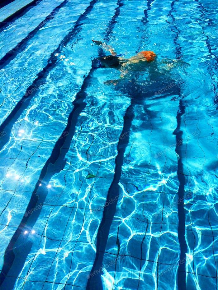 Urlaub Pool Wasser blau Textur Hintergrund