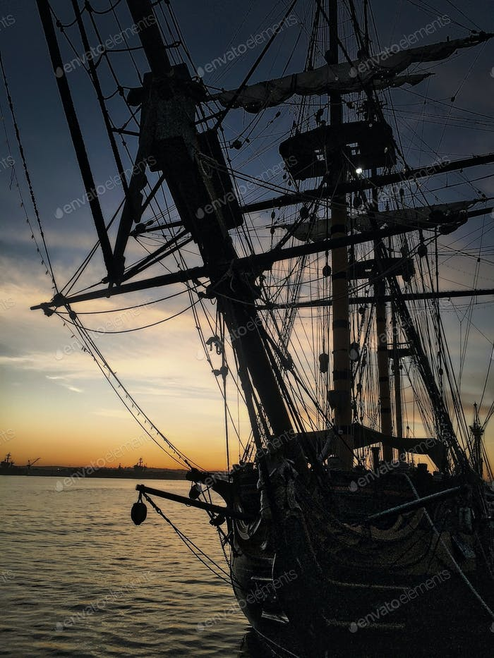 """Took this photo of the HMS Surprise Featured in Disney's """"Pirates of the Caribbean: On Stranger"""